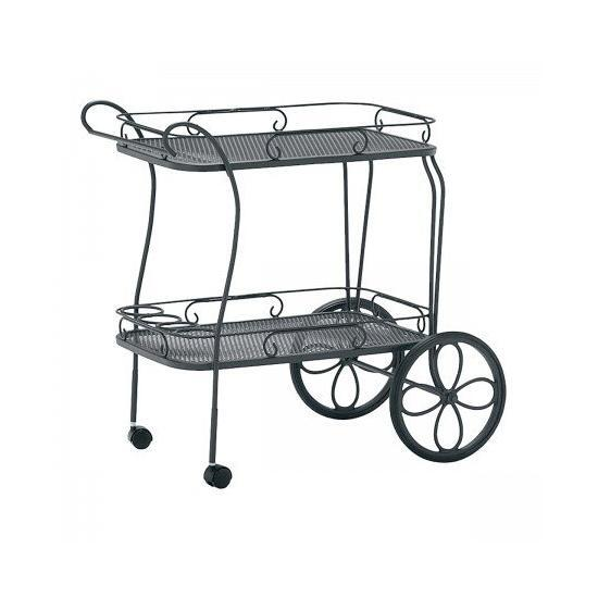 Tea Cart - Mesh Top With Removable Serving Tray