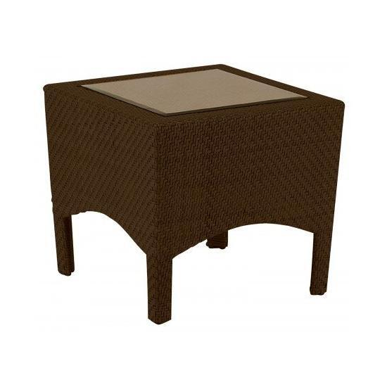Trinidad End Table With Glass Top