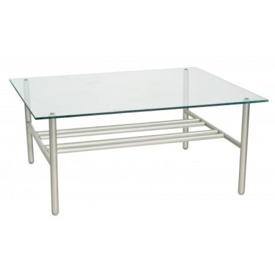 Uptown Glass Top Coffee Table