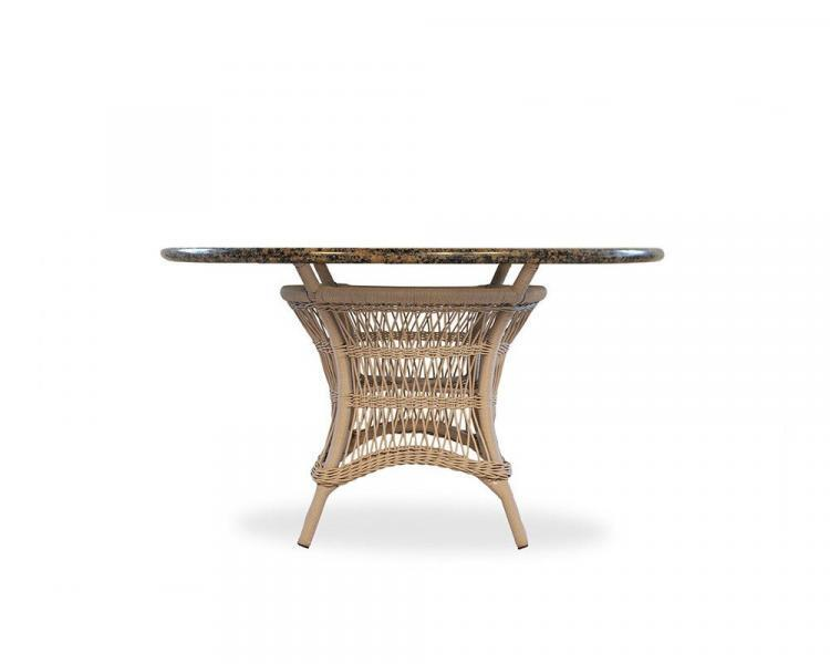 fairhope stone top umbrella table