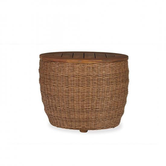 TOBAGO BARREL END TABLE