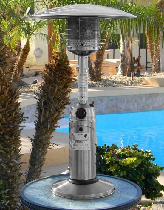 Stainless Steel Tabletop Heater