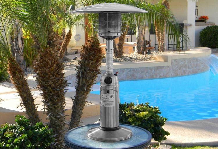 Stainless Steel Tabletop Heater 1