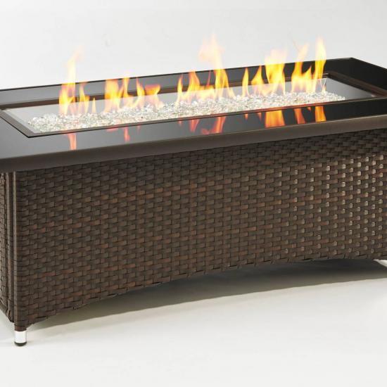 Montego Firepit (Brown Wicker)