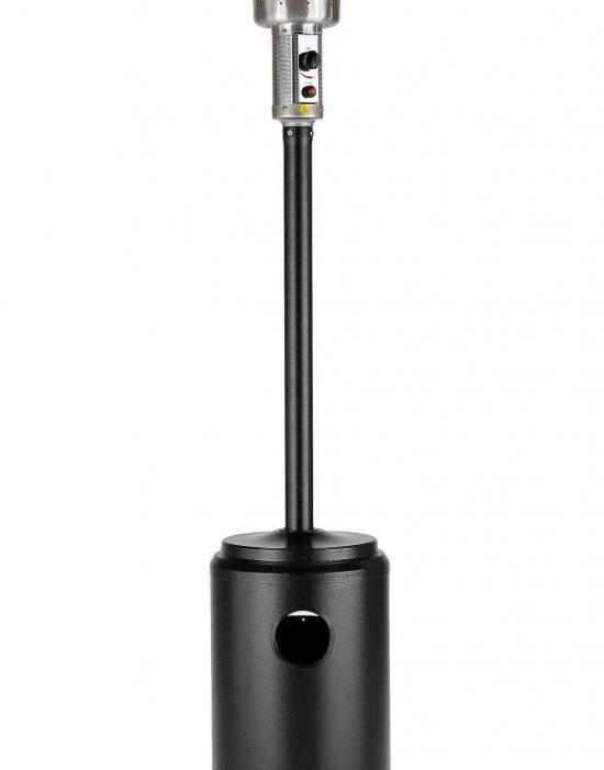 """93"""" Tall Commercial Patio Heater (Hammered Bronze)"""