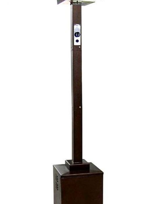 """91"""" Tall Commercial Grade Patio Heater (Hammered Bronze)"""