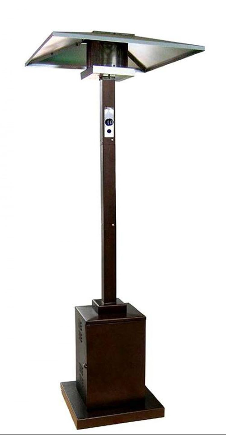 91″ Tall Commercial Grade Patio Heater (Hammered Bronze) 1