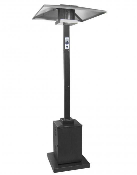 91 Inch Tall Commercial Grade Patio Heater (Black)