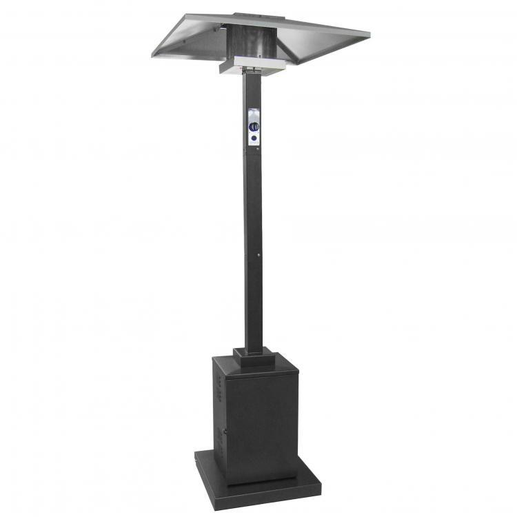 91 Inch Tall Commercial Grade Patio Heater (Black) 1