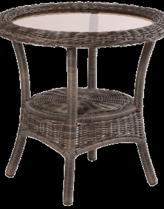 """BAINBRIDGE 24"""" ROUND SIDE TABLE"""