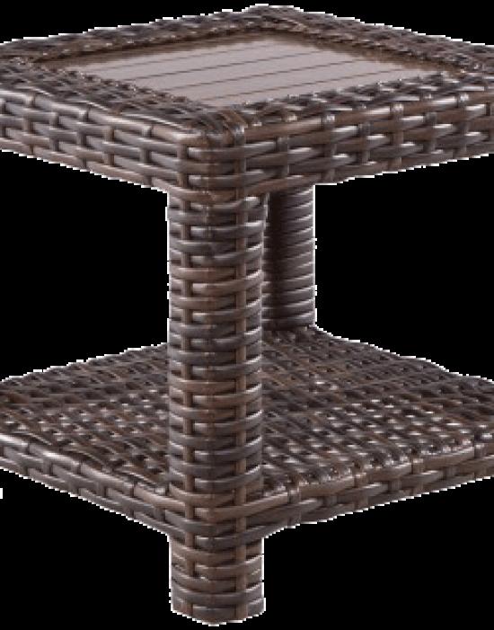 """AMALFI 23.5"""" SQUARE SIDE TABLE"""