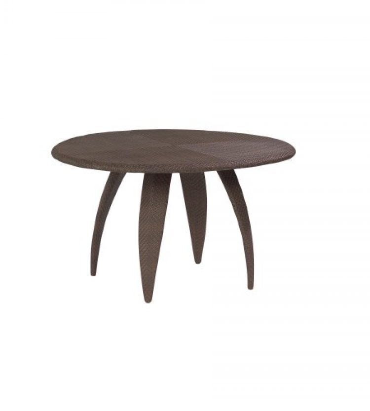 Bali 48 round woven top table