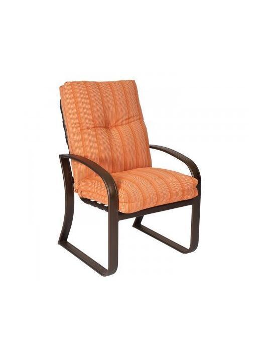 Cayman Isle Cushion Dining Arm Chair