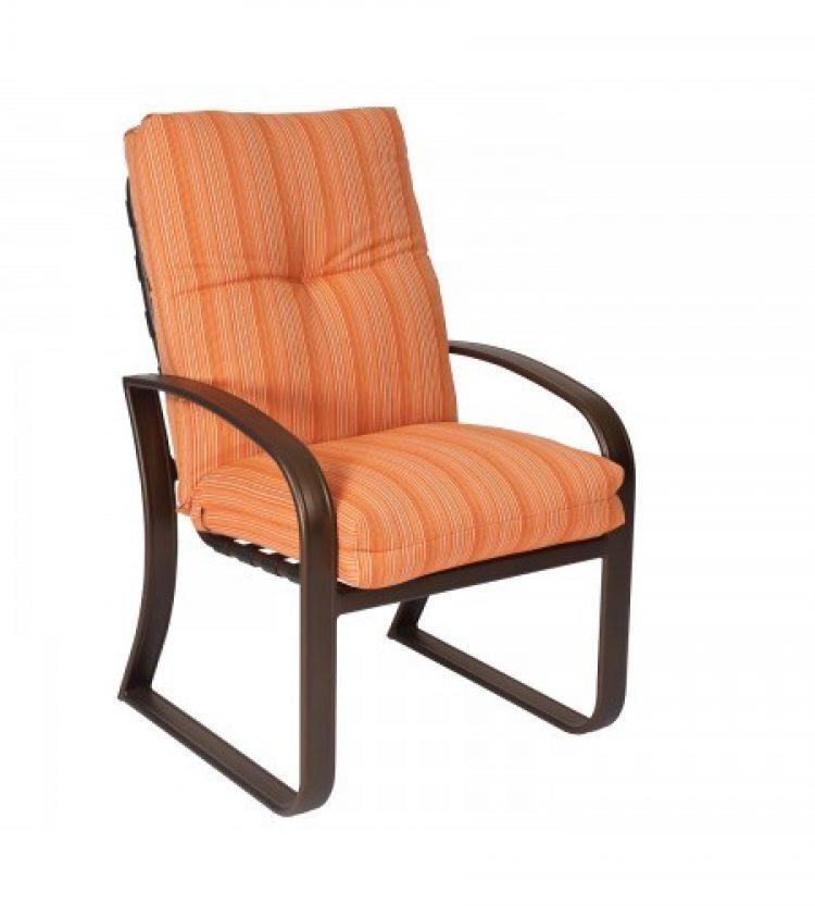 CI cushion dining arm chair