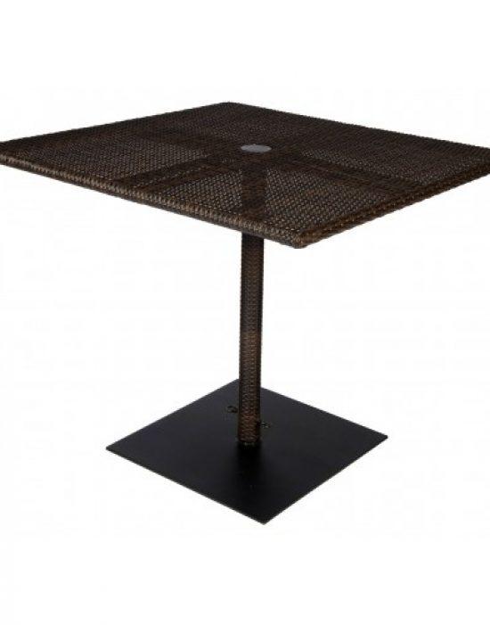 All-Weather 36 In. Square Umbrella Table