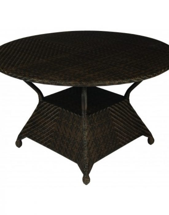"""All-Weather 48"""" Round Dining Table"""