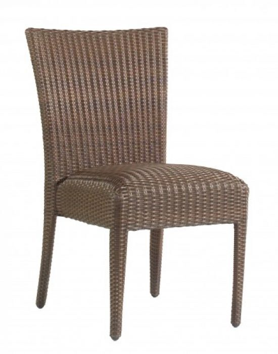 All-Weather Padded Seat Dining Side Chair