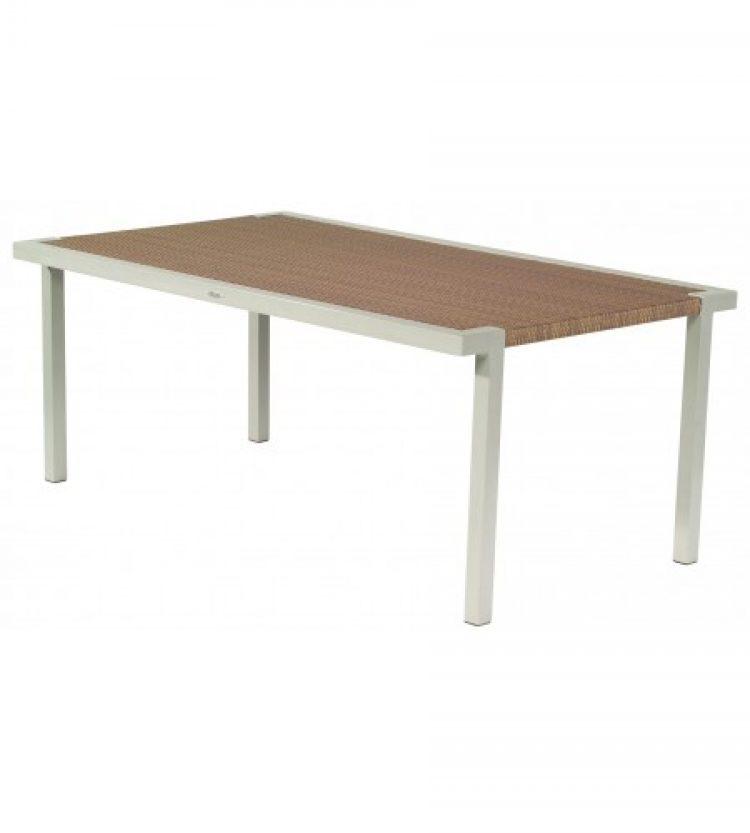 all weather sheridan 42 x 72 rectangular dining table