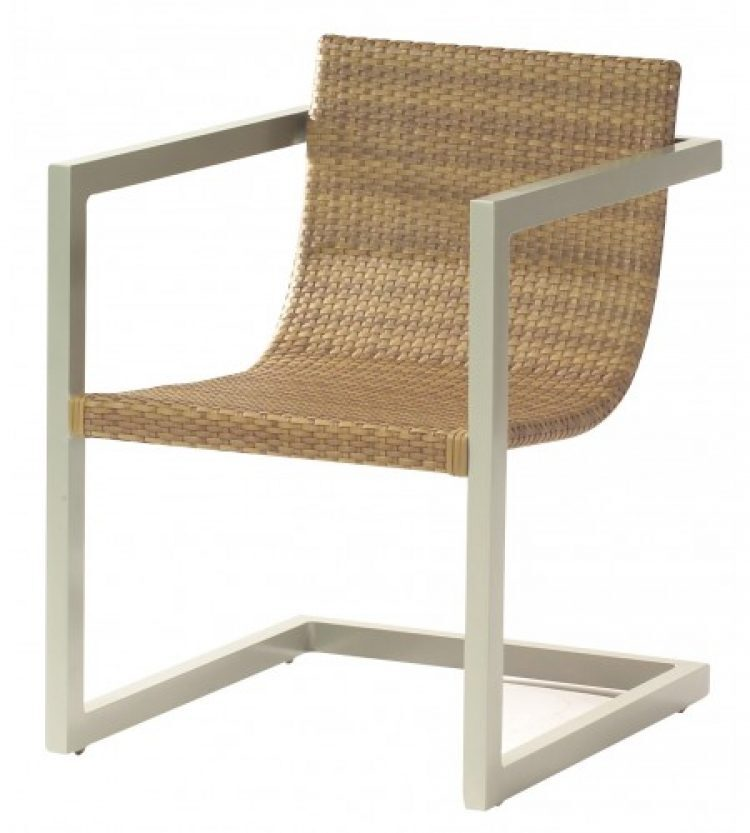 all weather sheridan dining arm chair