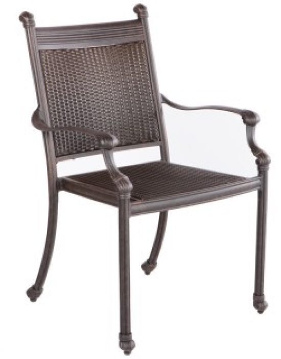 ANCHOR STACKABLE DINING ARM CHAIR