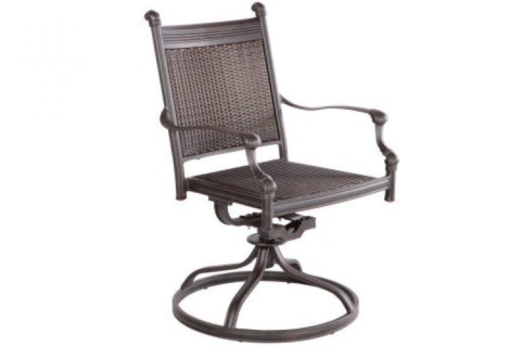 anchor swivel dining arm chair