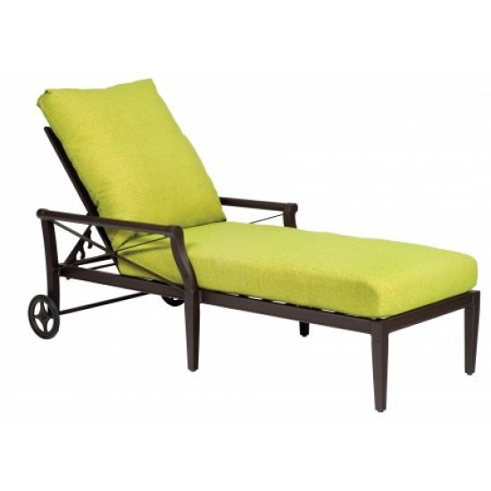 Andover Adjustable Chaise Lounge - Waterfall Cushion