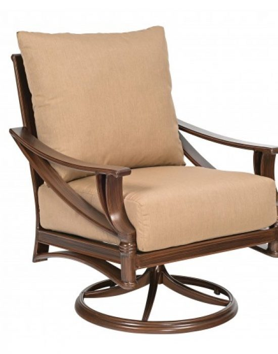 Arkadia Cushion Swivel Rocking Lounge Chair