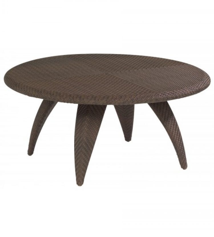 bali coffee table with woven top