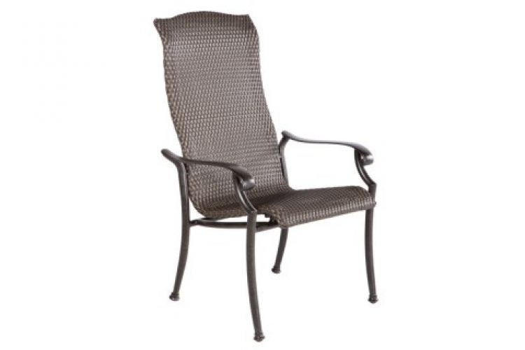barbados stackable dining arm chair