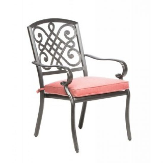 BARCELONA STACKABLE DINING ARM CHAIR