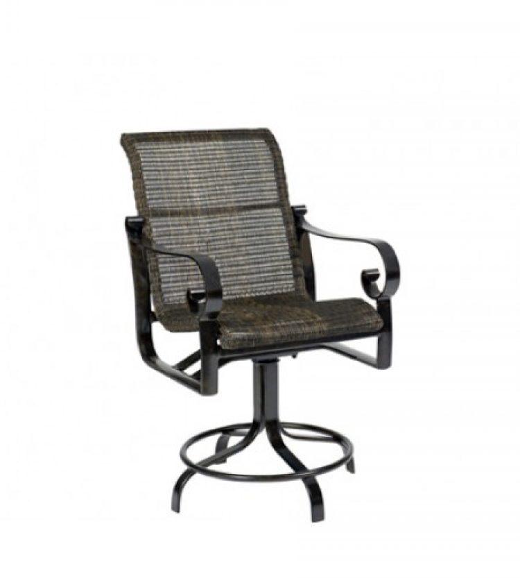 belden round weave swivel counter stool