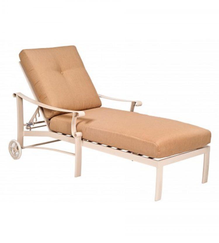 bungalow cushion adjustable chaise lounge