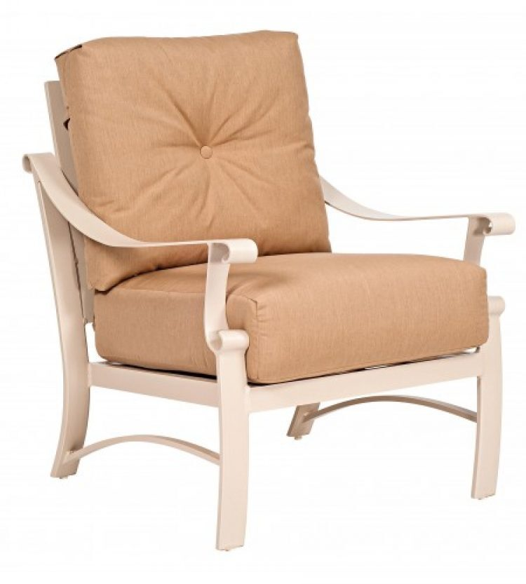 bungalow cushion stationary lounge chair