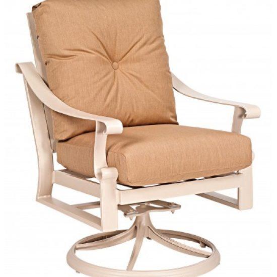 Bungalow Cushion Stationary Rocking Lounge Chair