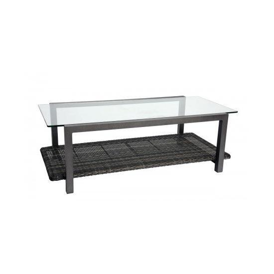 Canaveral Coffee Table With Glass Top