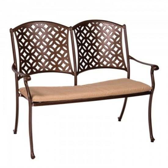Casa Bench With Optional Seat Cushion
