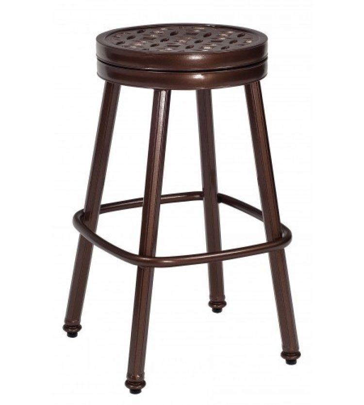 casa round swivel bar stool