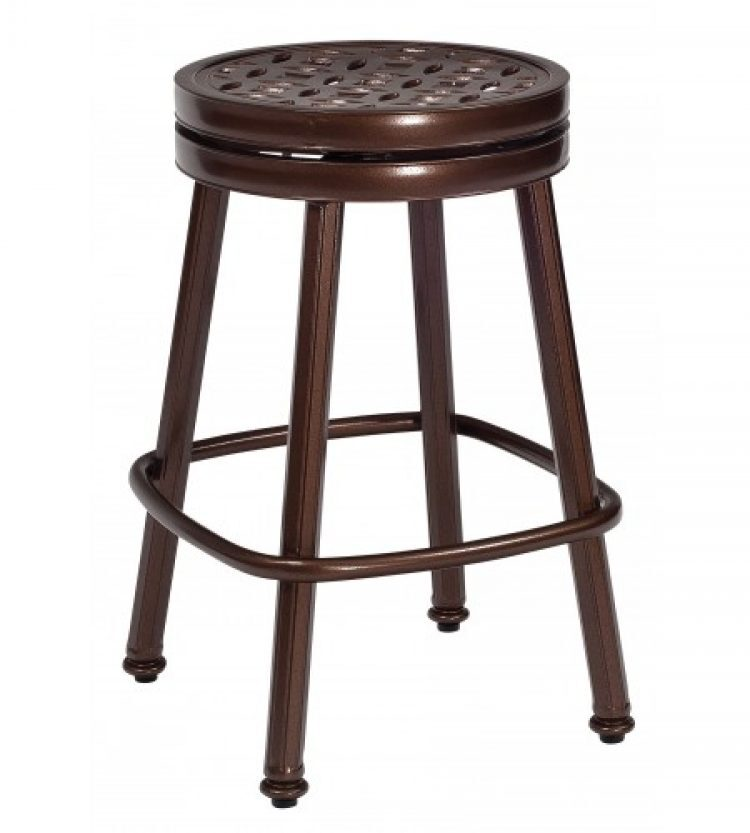 casa round swivel counter stool