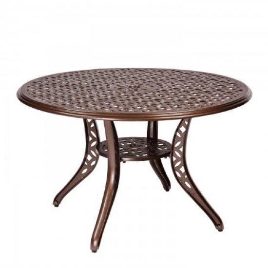 Casa Round Umbrella Table