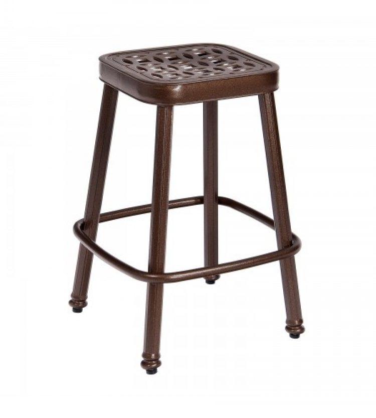 casa stationary counter stool