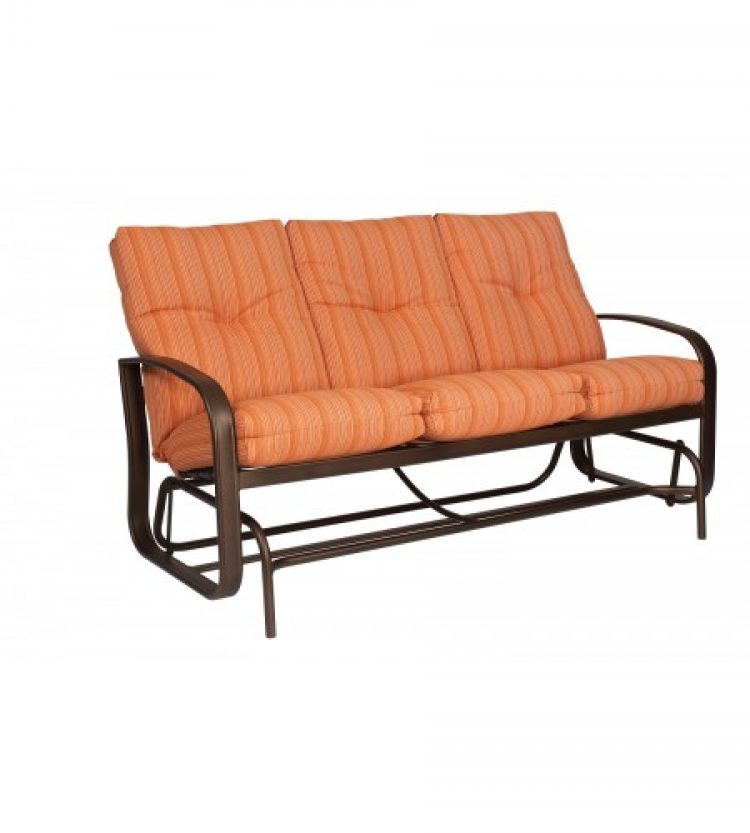 cayman isle cushion gliding sofa