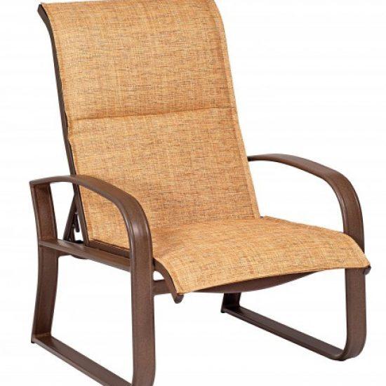 Cayman Isle Padded Sling Adjustable Lounge Chair