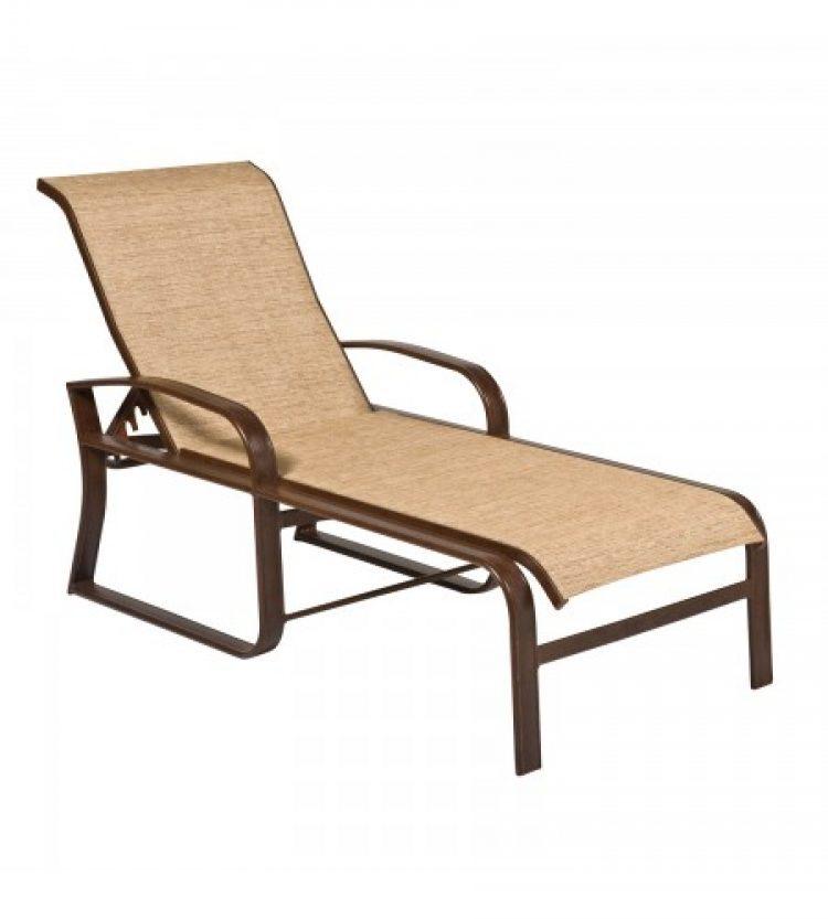cayman isle sling adjustable chaise lounge