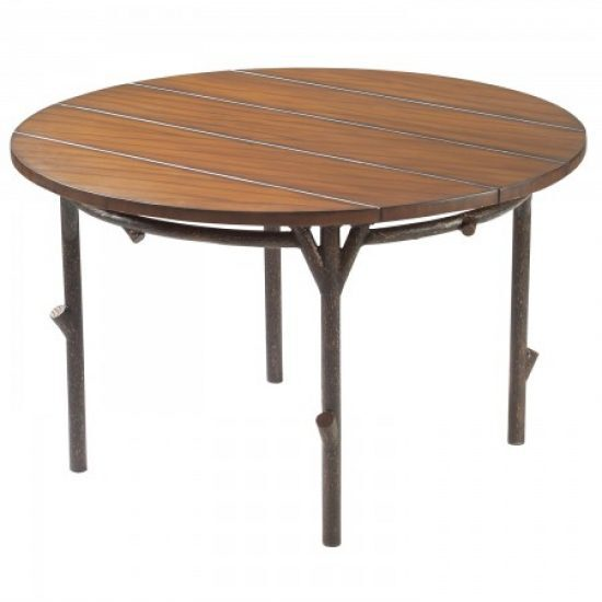 """Chatham Run 48"""" Dining Table With Faux Top"""