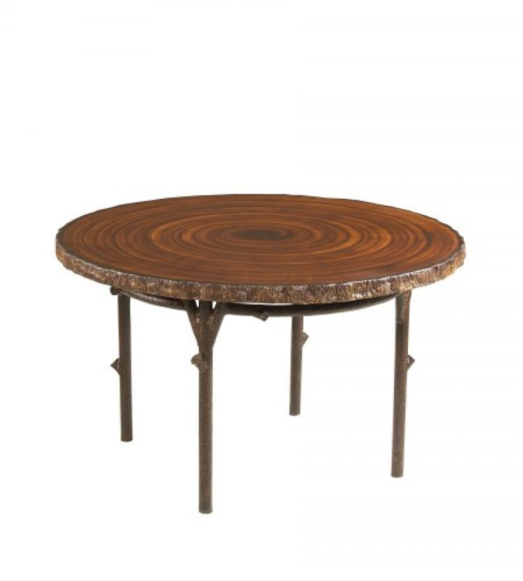 chatham run 48 heartwood dining table with faux top