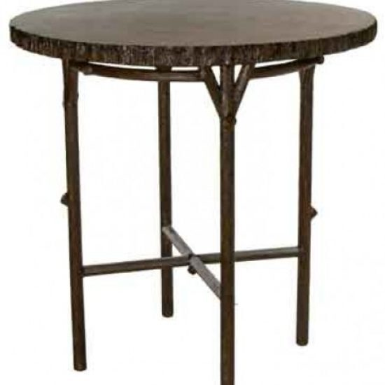 Chatham Run Heartwood Bar Table With Faux Top