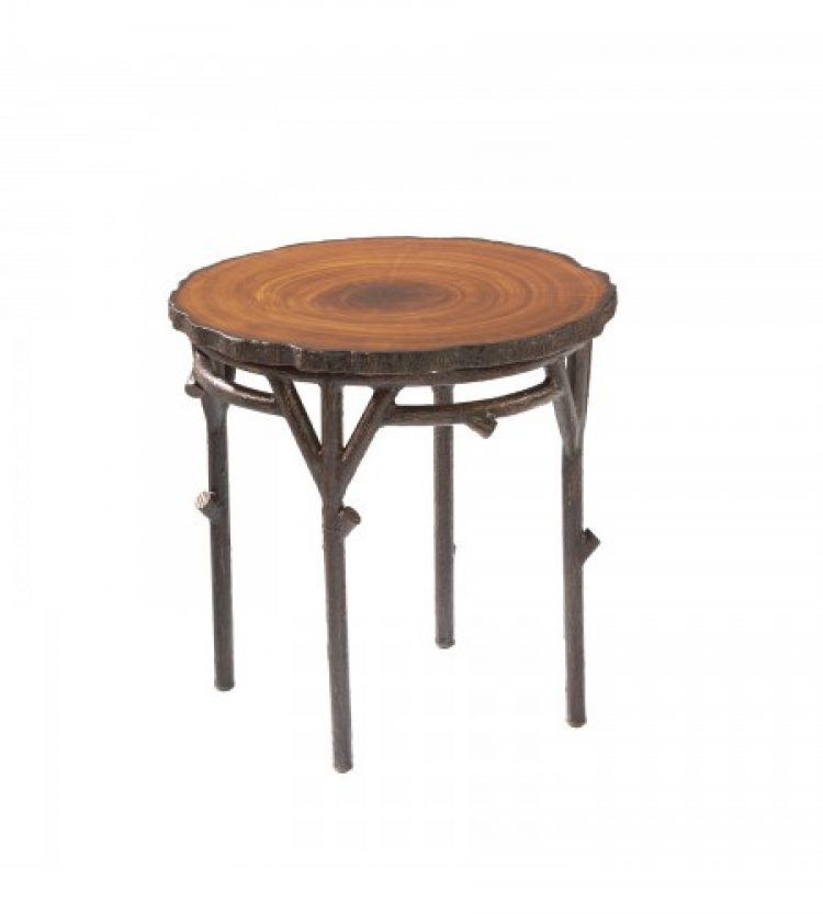 chatham run heartwood end table with faux top