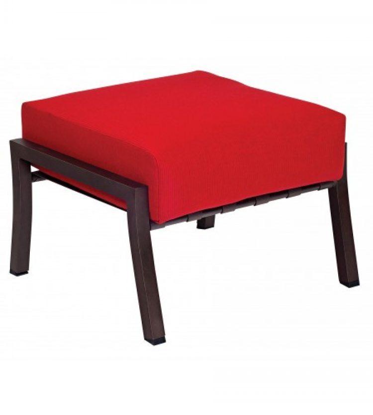 cortland cushion ottoman
