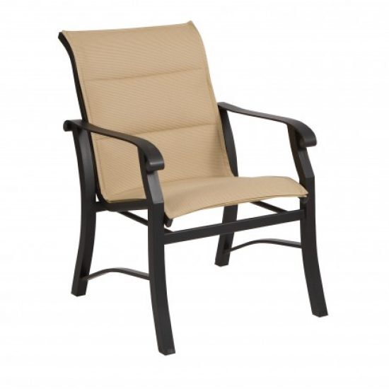 Cortland Padded Sling Dining Arm Chair