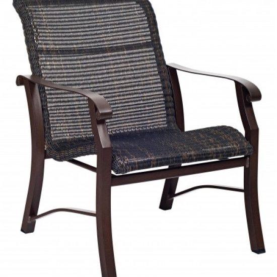 Cortland Round Weave Lounge Chair